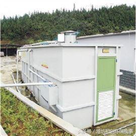 农村生活污水一体化污水装置
