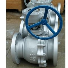 Q341F-300LB-200碳钢涡轮美标球阀