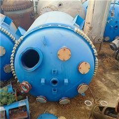 1000L 2吨 5立方 6300L二手500L搪玻璃反应釜,2吨开式搪瓷釜