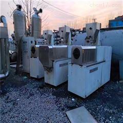 回收65 70型 80 85型二手饲料膨化机,65 70型双螺杆,食品膨化