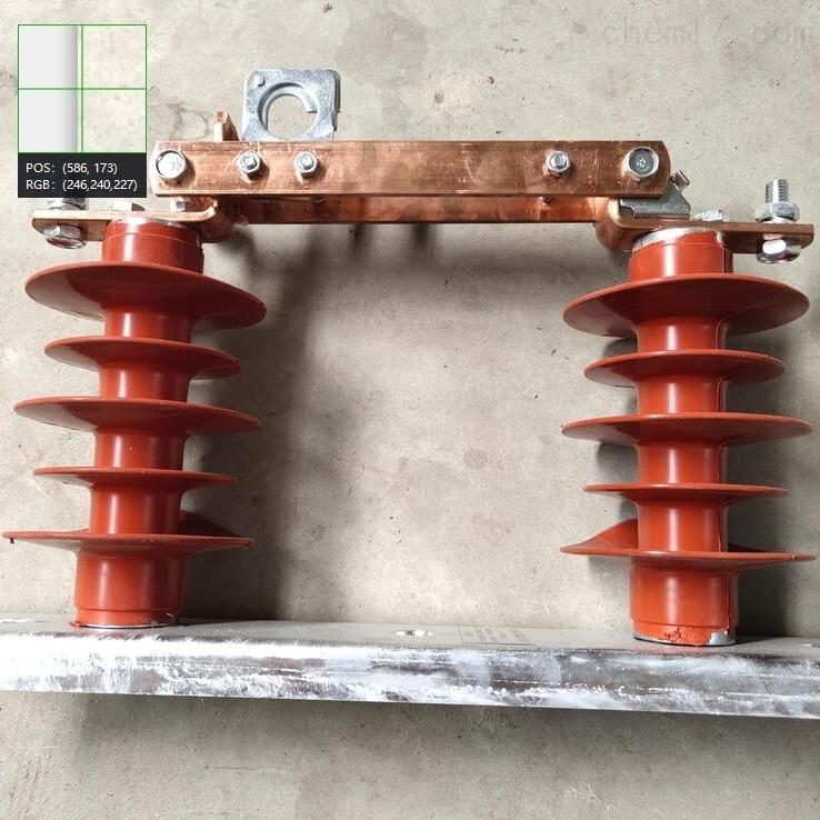 水平式35KV柱上V型高压隔离开关安装说明书