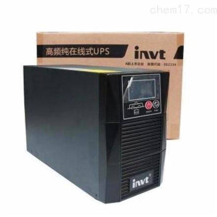 英威腾ups电源 HT1101L 1kva 900w蓄电池