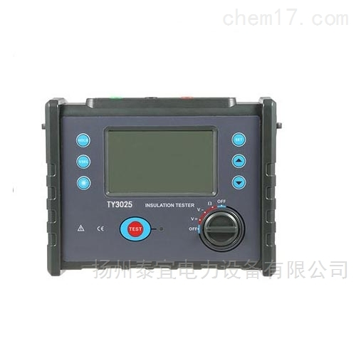 TY高压绝缘电阻测试仪