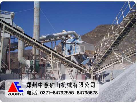 河南郑州石灰石破碎生产线设备工艺配置全国销售领军企业
