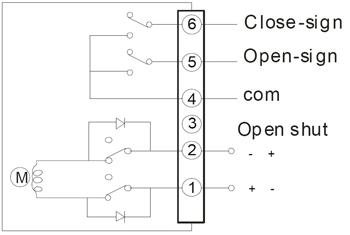 DC24V\DC12V直接开关型接线图