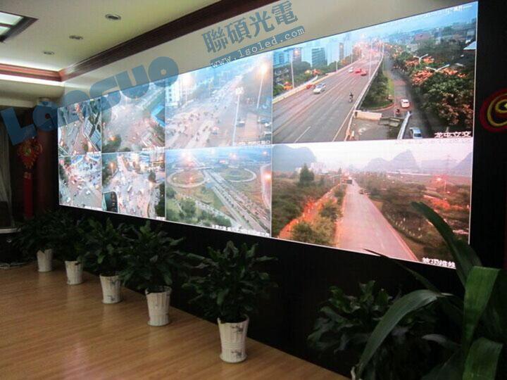 畢節高清led顯示大屏 p4全彩8平方米16:9價格圖片