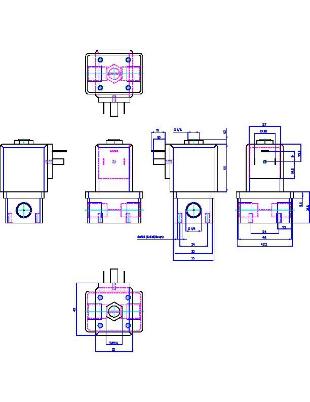 burkert两位两通直动电磁阀图片