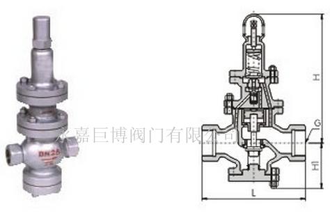 y42f活塞式减压阀分享展示图片