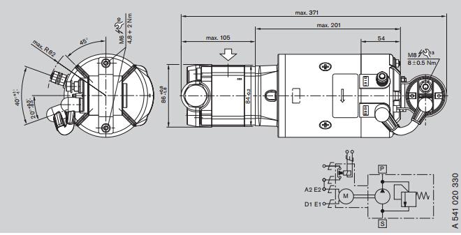 力士乐exroth液压泵工作原理