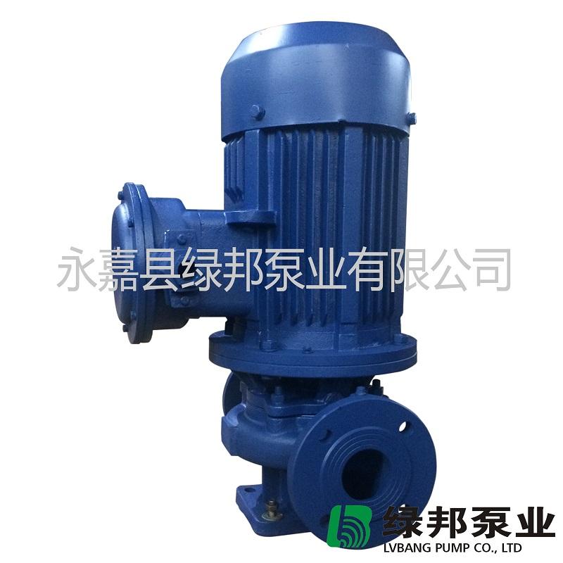 IHGB防爆管道化工泵,不锈钢化工泵,立式不锈钢管道泵