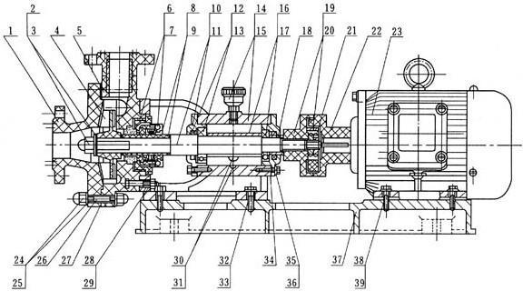 FS型玻璃钢离心泵