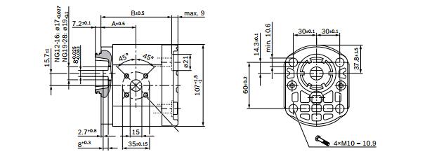 rexroth外啮合齿轮泵工作原理
