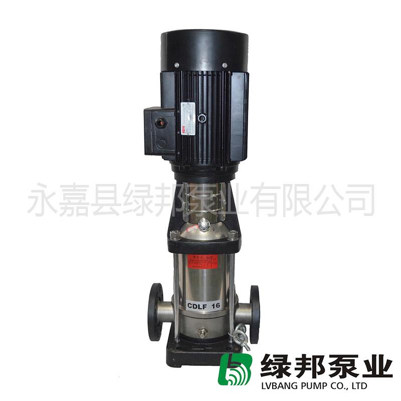QDLF\CDLF輕型不銹鋼多級泵