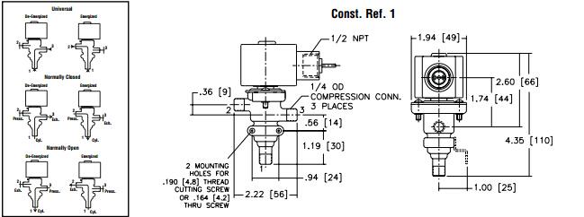 asco电磁阀如何选型两位三通电磁阀