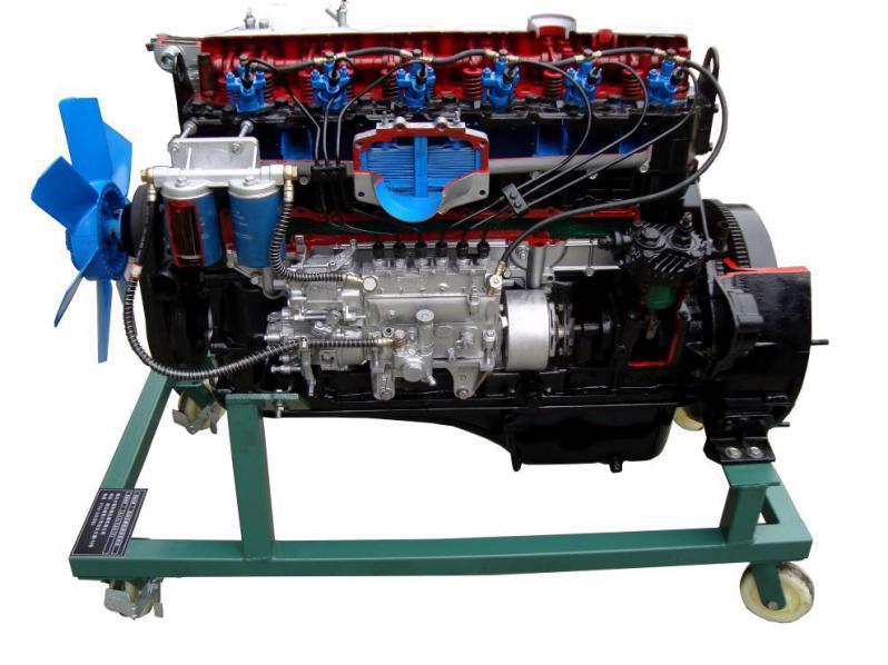 柴油发动机实物解剖模型