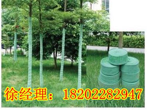 (2)保湿保暖:绿色纤维树木养护带以动植物或化纤