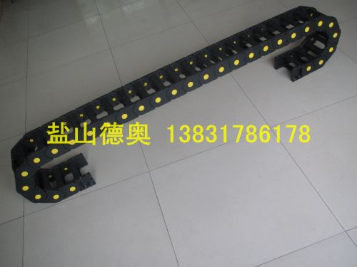 供应工业机器人专用电缆尼龙拖链 小型万向尼龙拖链 德奥尼龙拖链厂