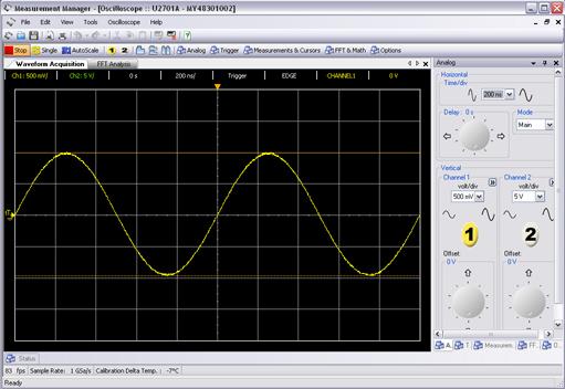 示波器界面_u2701ausb模块化示波器