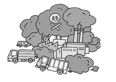 多数人认为机动车尾气是主要污染源