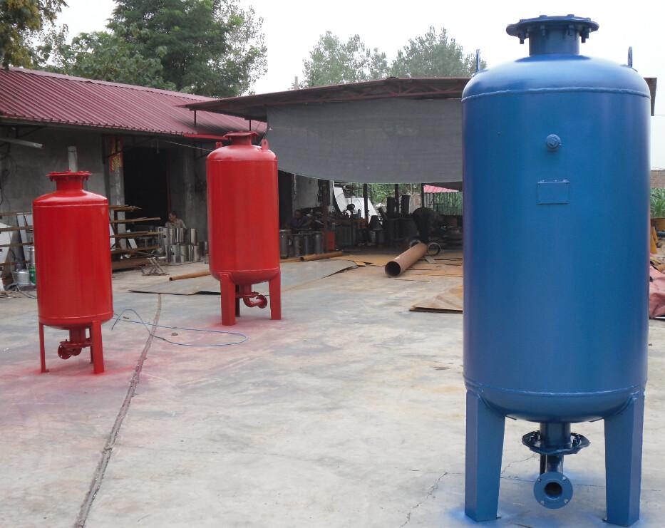随州隔膜式气压罐厂图片