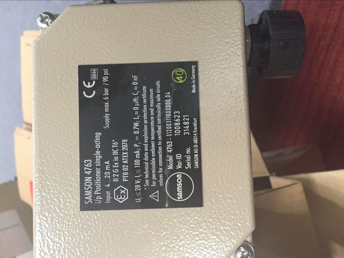 萨姆森阀门定位器作为气动控制阀的重要附件,接受控制系统或萨姆森