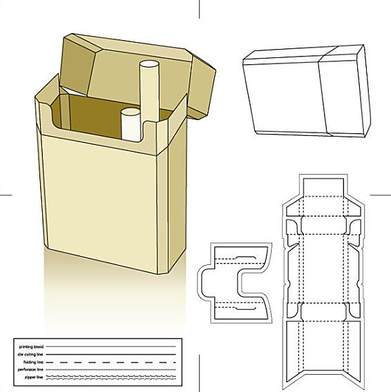 烟盒烟标压痕力挺度测试仪检测产品