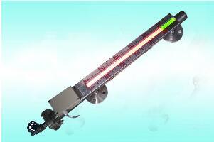 磁敏双色液位计根据浮力原理和磁性耦合作用原理工作.图片