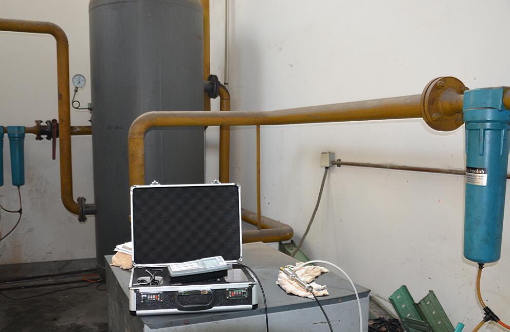 压缩空气检测服务露点检测照片