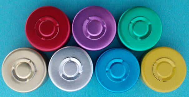 抗生素瓶用铝塑组合盖撕片撕开力检测仪检测产品