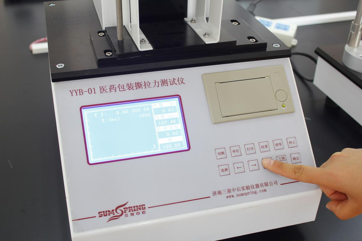 预灌封注射器针与针座的连接力测试仪