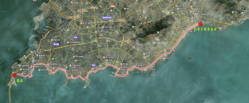 """第一届""""新光智源杯""""海滨木栈道马拉松徒步比赛"""