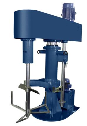 单轴液压升降搅拌机工作原理图片