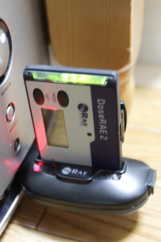 个人剂量报警仪电脑充电