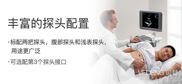 <strong>迈瑞台式黑白超声诊断仪</strong>DP-7适配多种探头