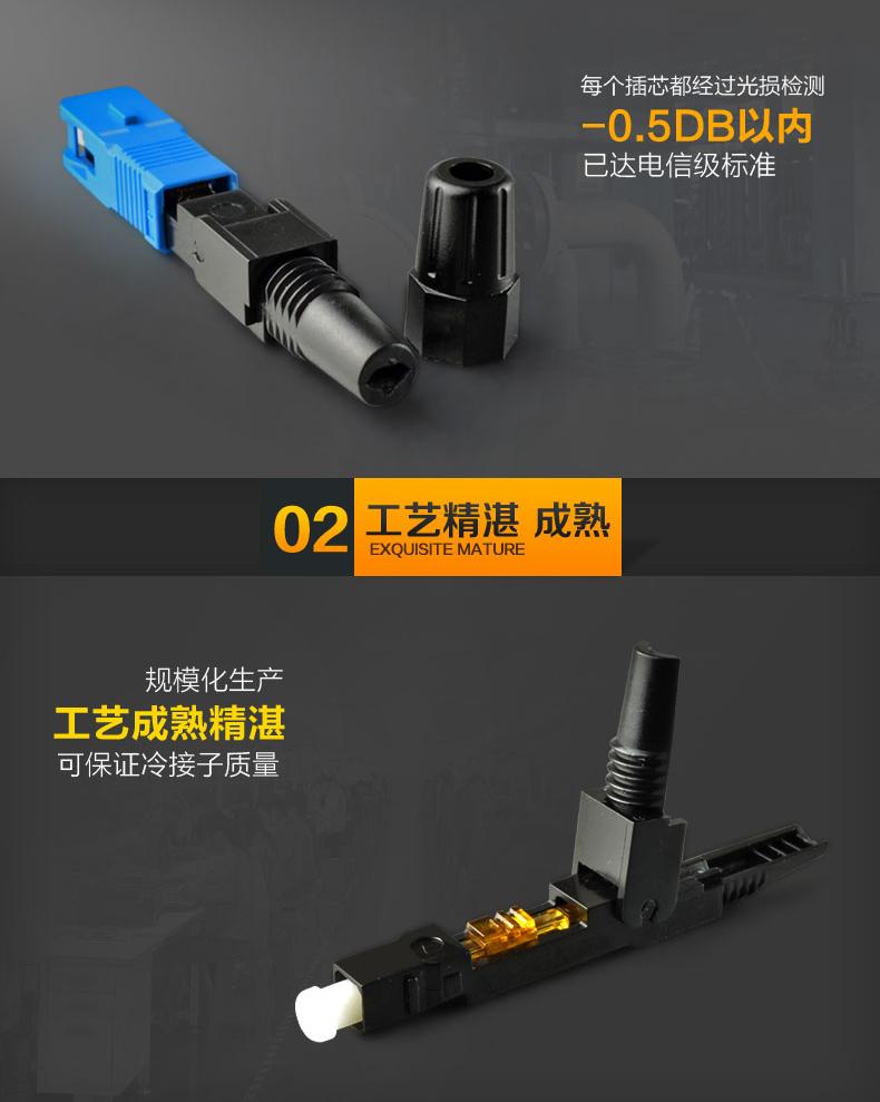 ftth光纤快速连接器:  光纤活动连接器 ,俗称活接头,一般称为光纤连接