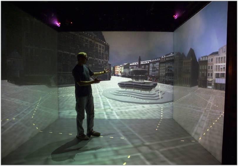 cave大型沉浸式虚拟现实系统
