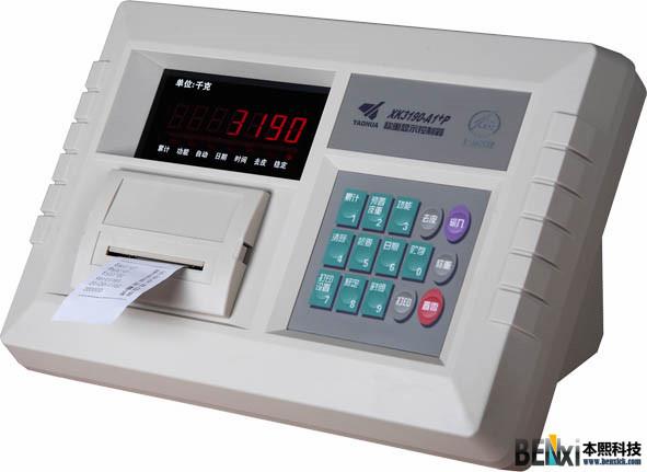 A1+P 带打印功能台秤称重仪表,地磅称重仪表