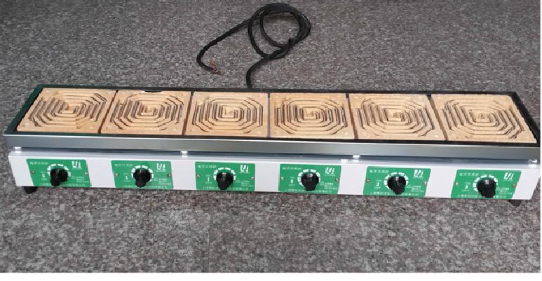 dll-6型-六联电炉,实验室万能万用电炉无极调温