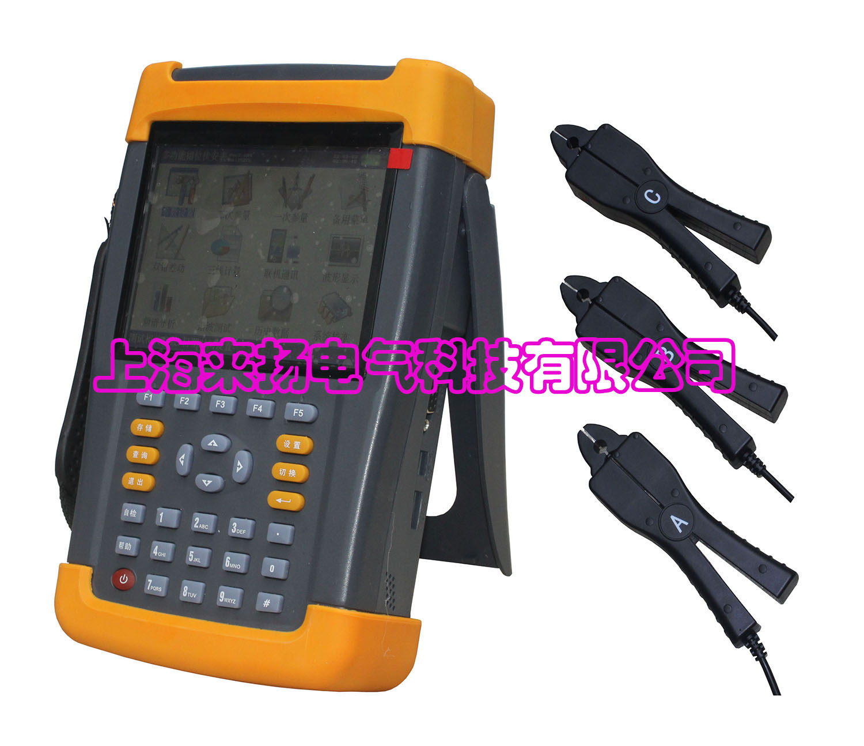 采用钳形电流互感器接线,不用断开电流回路,安全方便.