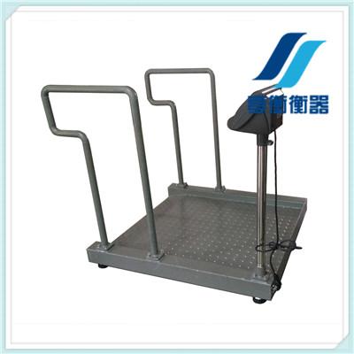 用称轮椅的电子地磅