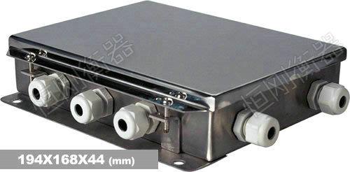 双层电子地磅秤接线盒
