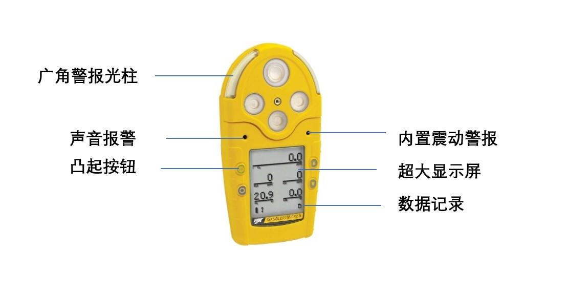 BWGAMIC-5多种气体检测仪