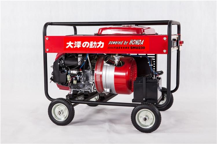 <strong><strong>230A汽油动力发电电焊两用机</strong></strong>
