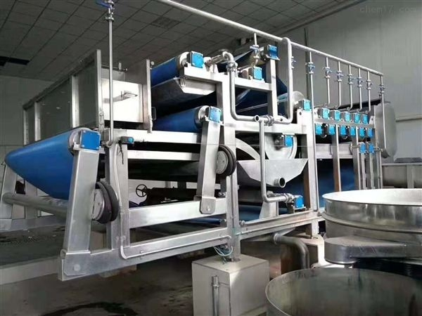 回收带式压滤机