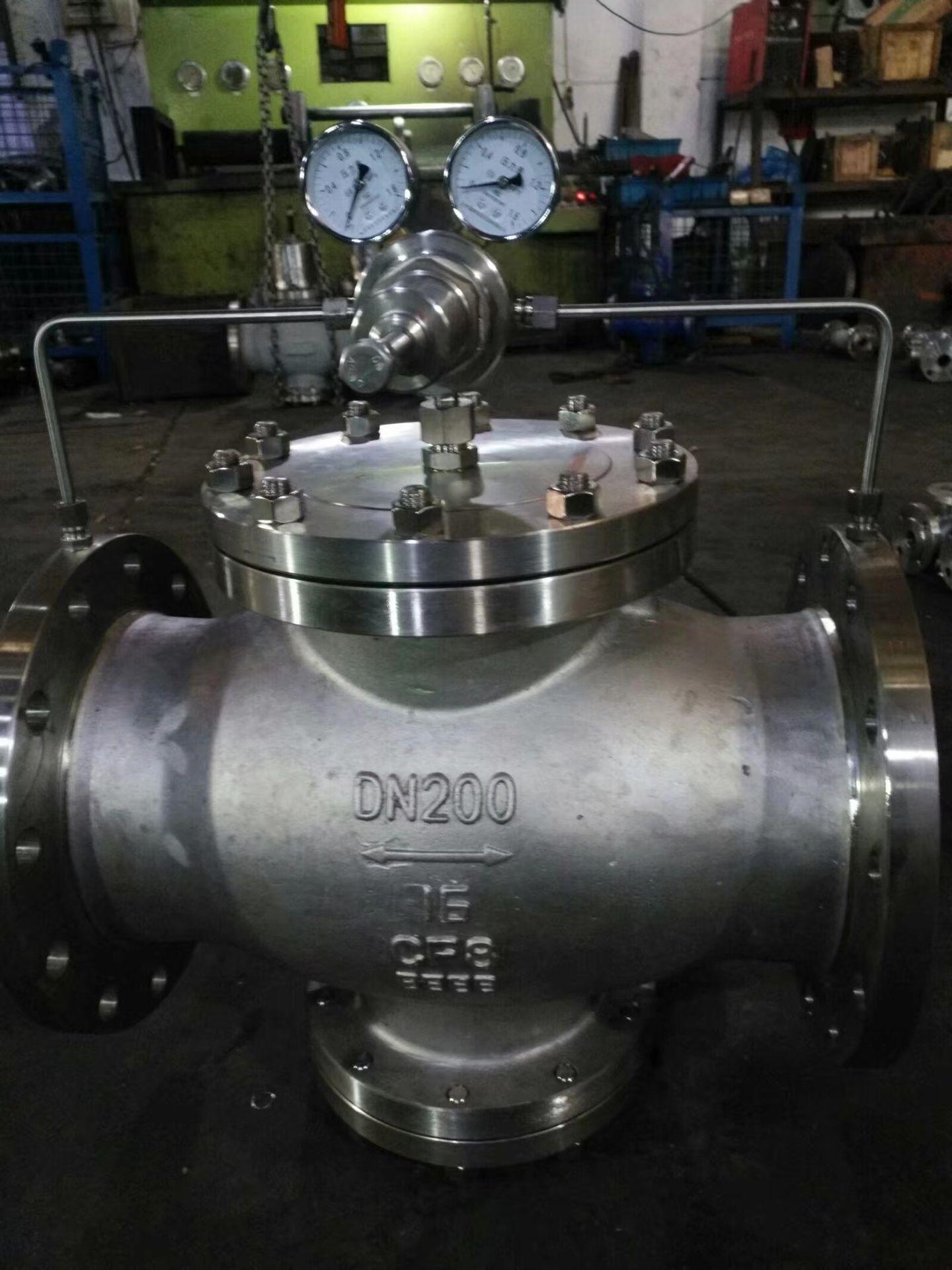 冶金氮气减压阀