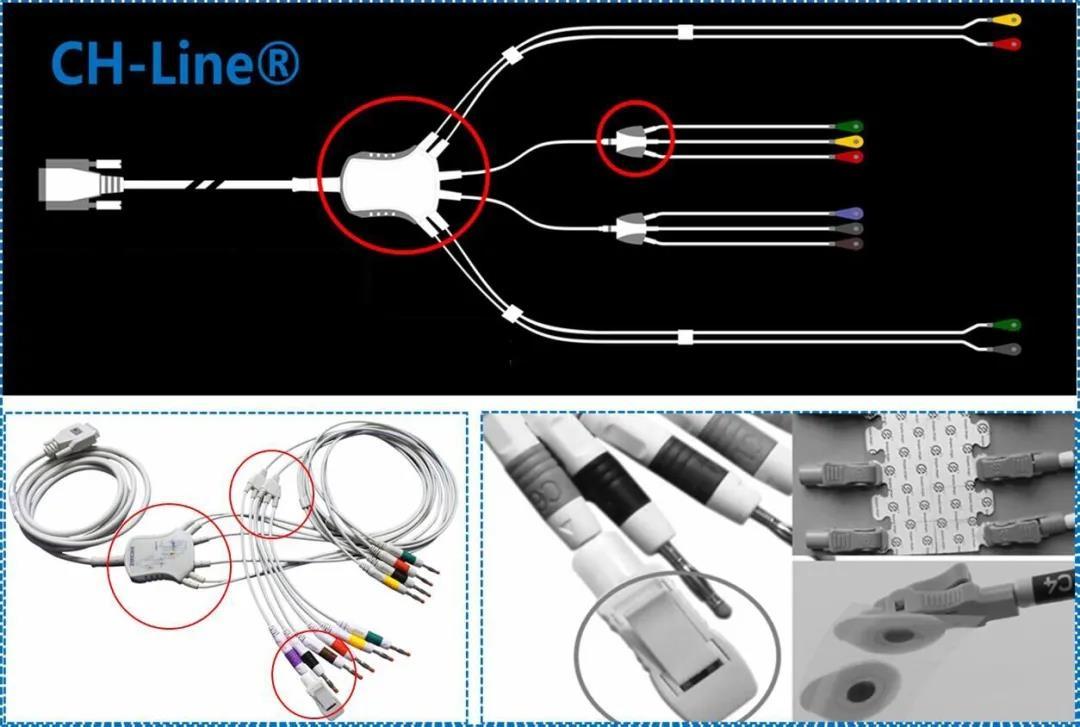 数字式十二道心电图机U70配件功能