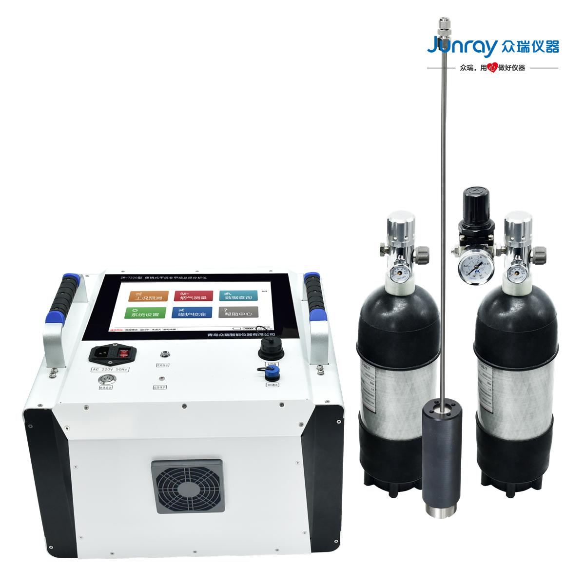 太阳成_便携式甲烷非甲烷总烃分析仪