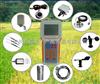 CJ-SCQ8-8参数气象站手持式智能农业气象环境检测仪、 温度、 湿度、光照 、二氧化碳 、光合有效辐