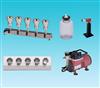 HDG-SZ-5C五联水中微生物膜过滤装置