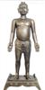 35CM仿古铜人针灸模型|仿宋天圣针灸铜人